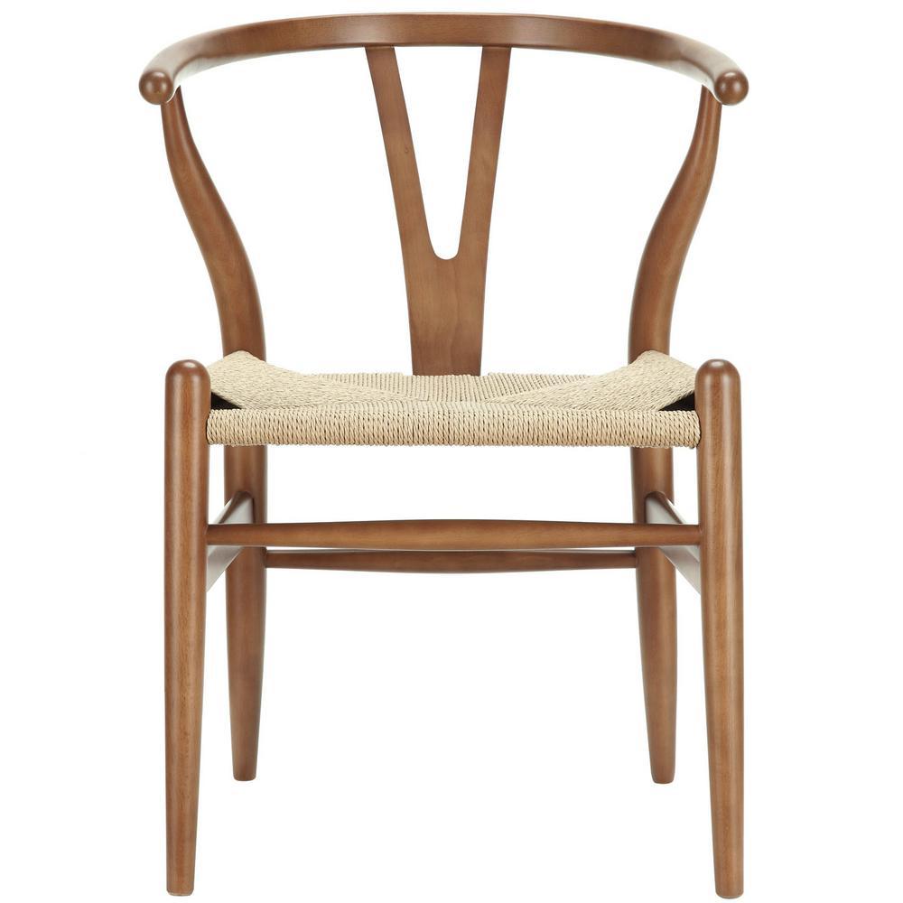Amish Walnut Dining Wood Armchair