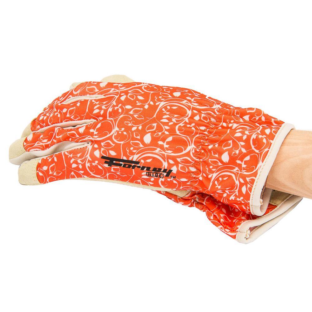 Women's M Utility Gloves, Peach