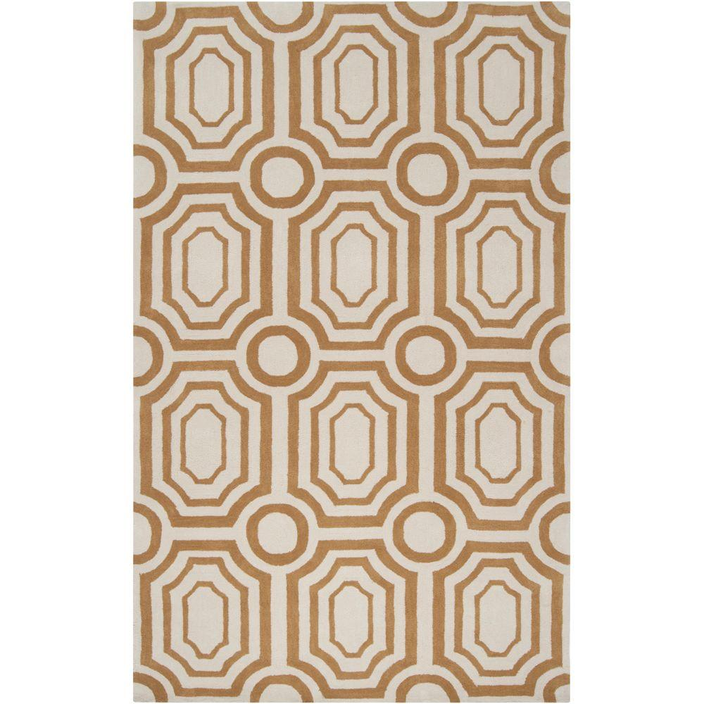 Surya Angelo Home Old Gold 2 ft. x 3 ft. Accent Rug
