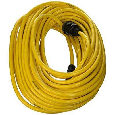 100 ft. 12/3 SJTW Outdoor Heavy-Duty Lock Jaw Extension Cord