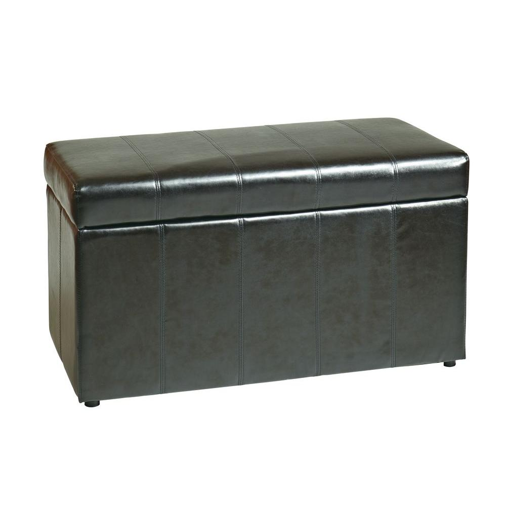 OSPdesigns Square Storage Ottoman with Cubes-DISCONTINUED