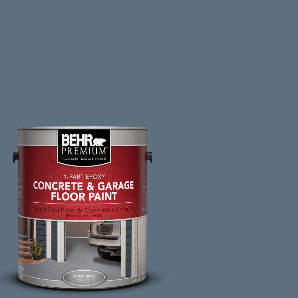 BEHR Premium 1 gal. #PFC-55 Sea Cave 1-Part Epoxy Concrete and Garage Floor Paint