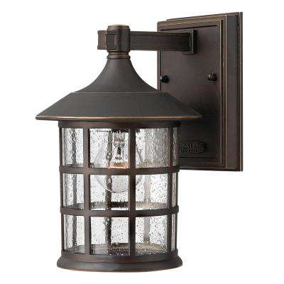 Freeport Small 1-Light Oil Rubbed Bronze Outdoor Wall Lantern