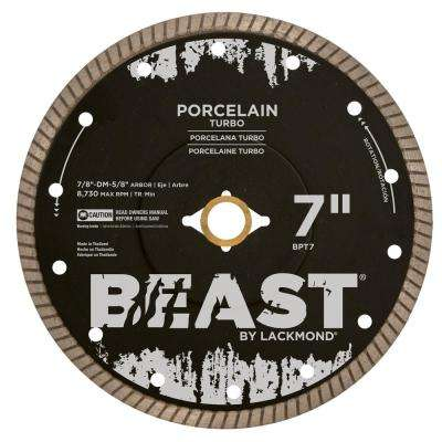 7 in. Porcelain Turbo Wet/Dry