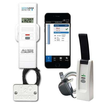 Wireless Remote Water Leak Detector with Early Warning Alerts