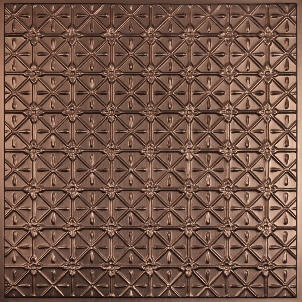 Continental Faux Bronze 2 ft. x 2 ft. Lay-in or Glue-up