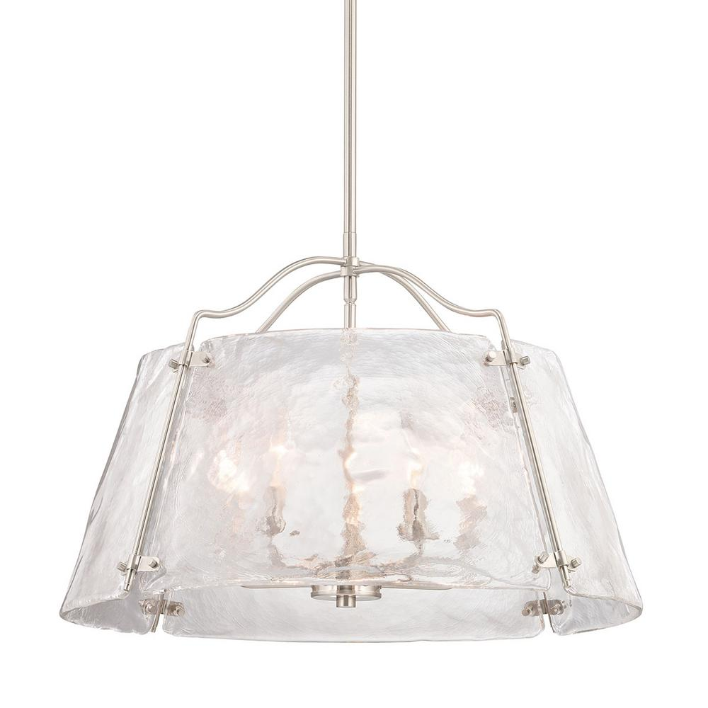 HomeDecoratorsCollection Home Decorators Collection Archdale 5-Light Brushed Nickel Pendant