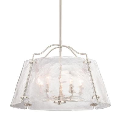 Archdale 5-Light Brushed Nickel Pendant