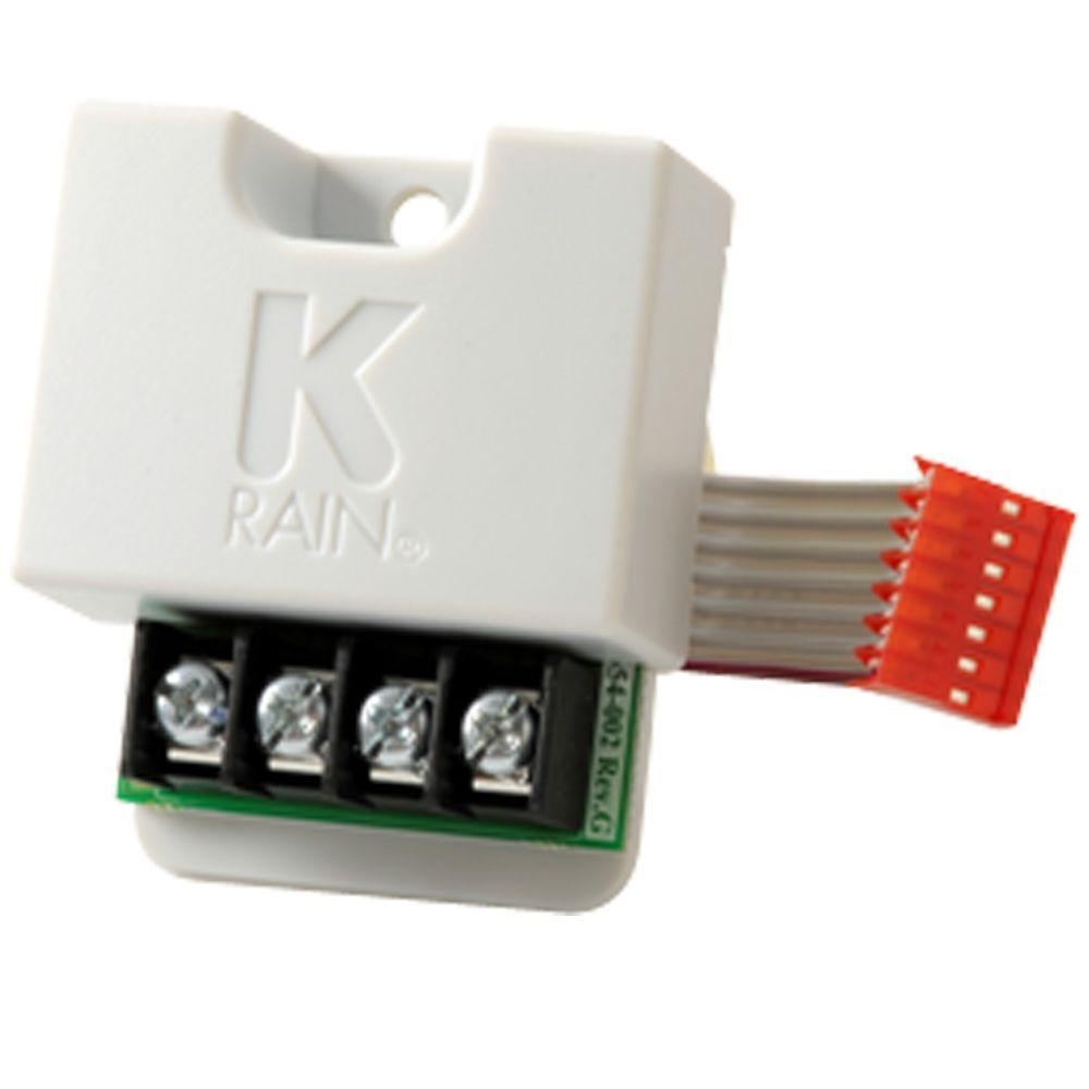 K rain pro ex 4 zone expansion module 3204 the home depot for Door zone module