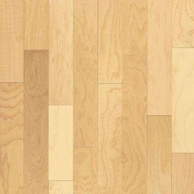 Take Home Sample - Natural Maple Solid Hardwood Flooring - 5 in. x 7 in.