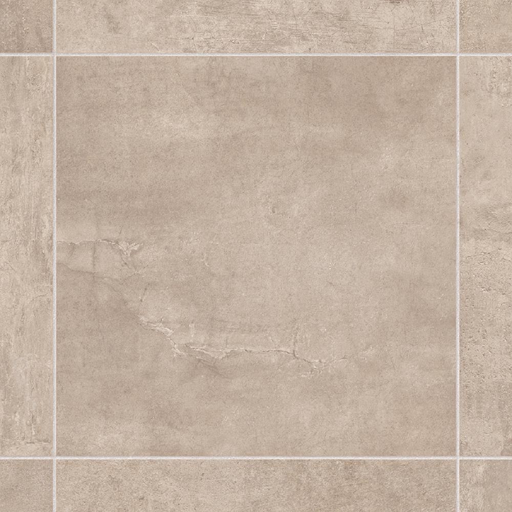Take Home Sample - Lonney Tan Residential Sheet Vinyl Flooring - 6 in. x 9 in.
