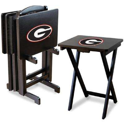 University of Georgia TV Trays with Stand