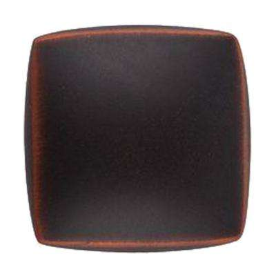 1-1/4 in. Satin Copper Square Cabinet Knob