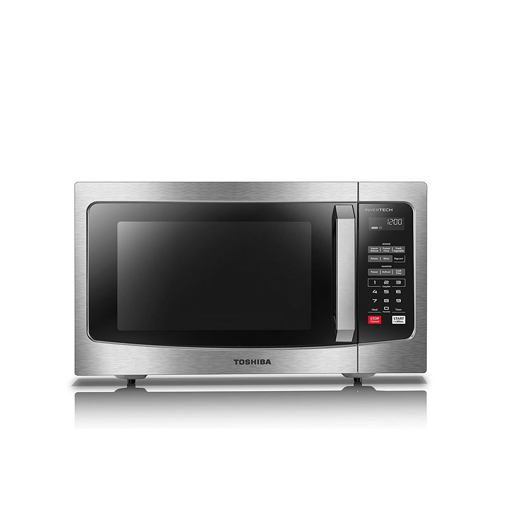 Stainless Steel Countertop Microwave Oven With Inverter Technology