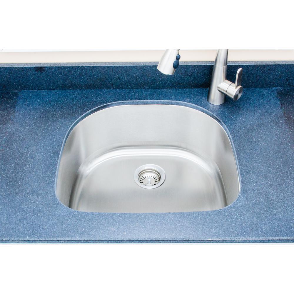42 Single Stainless Steel Undermount Kitchen Sinks Kitchen