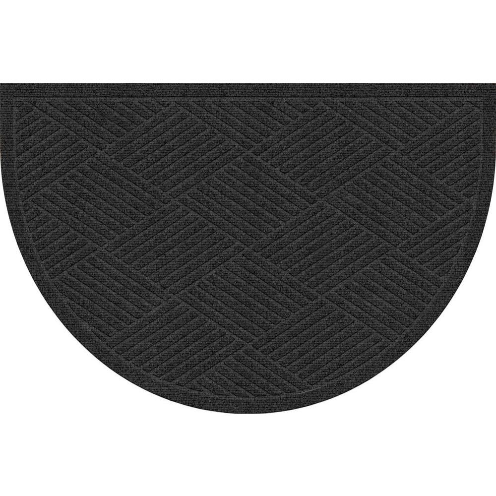 Checkered Flag Rug: Fireside Patio Mats Racing Checks Black And White