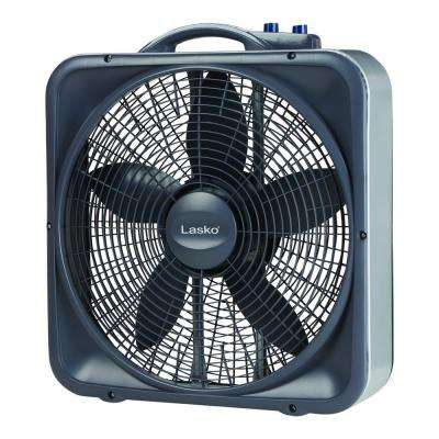 Weather-Shield Select 20 in. 3-Speed Box Fan with Thermostat