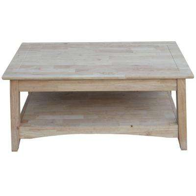 Bombay Unfinished Lift Top Coffee Table