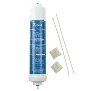 whirlpool in line refrigerator water filter 4378411rb the home depot. Black Bedroom Furniture Sets. Home Design Ideas