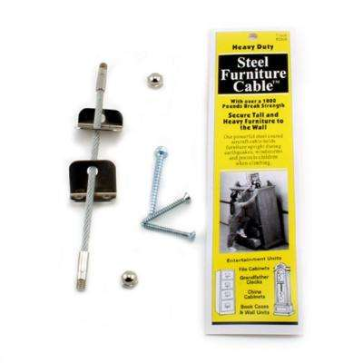 7 in. Steel Furniture Cable