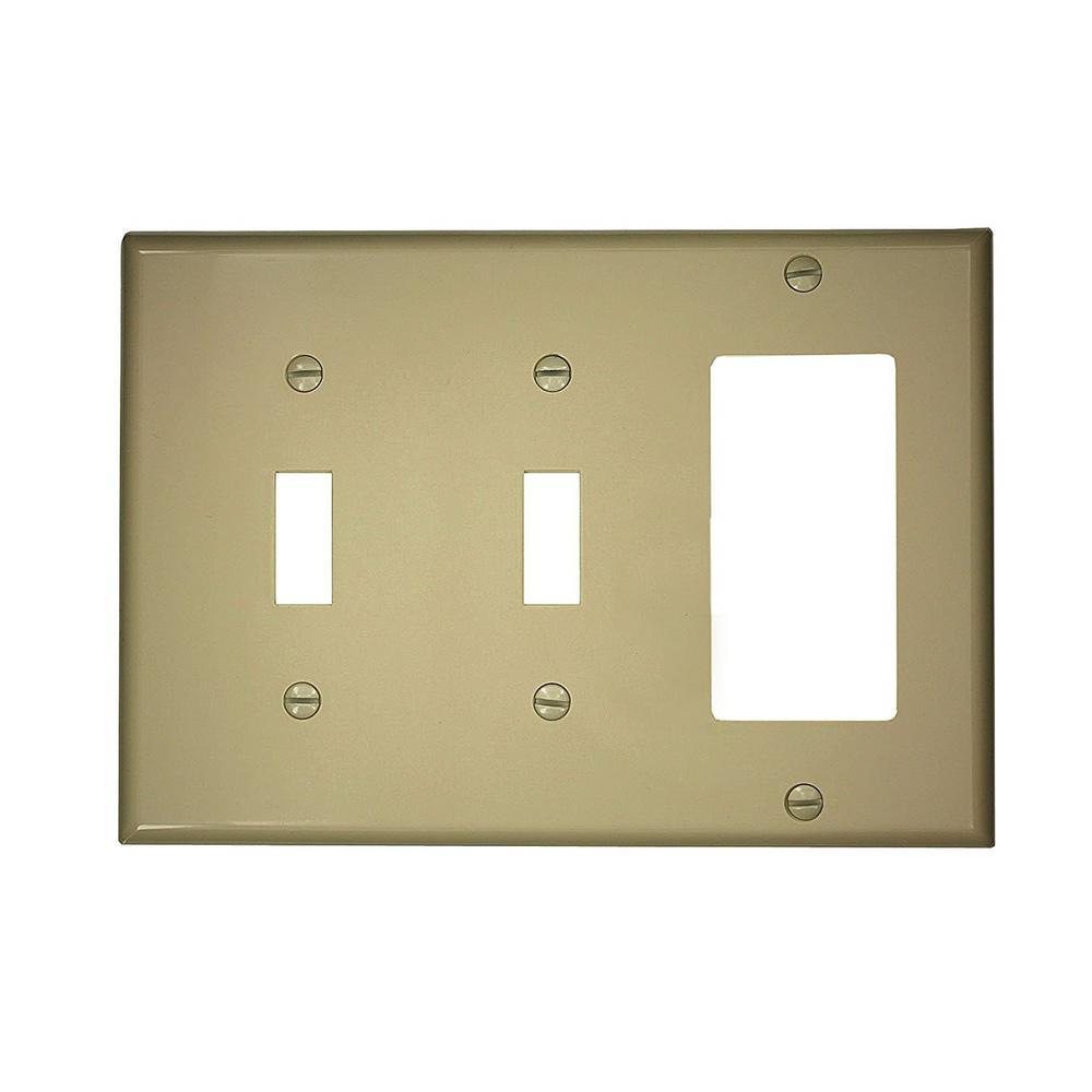 Liberty - Combination Wall Plates - Wall Plates - The Home Depot