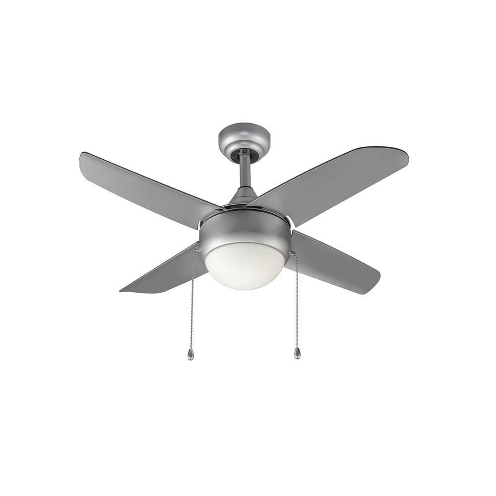 Harper 36 in. Indoor Grey Ceiling Fan with Light Kit