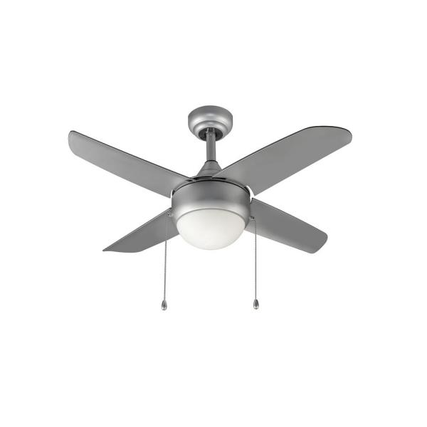 Home Decorators Collection Spindleton 36 In Indoor Grey Ceiling Fan With Light Kit 34545 Hbug The Home Depot