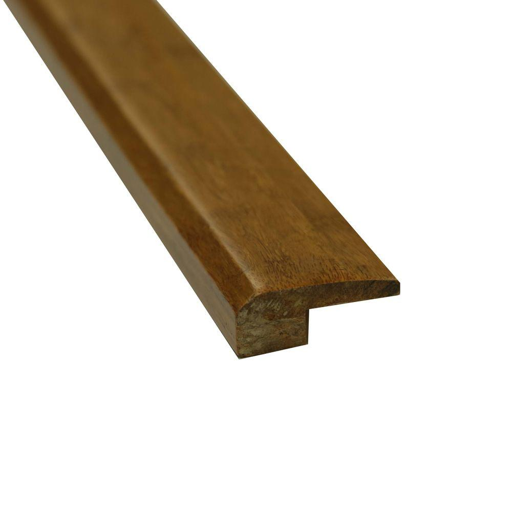 Islander Carbonized 11/16 in. Thick x 1-7/8 in. Wide x 72-3/4 in. Length Strand Bamboo Threshold Molding