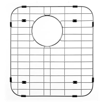 Wirecraft 15 in. x 13.75 in. Bottom Grid for Kitchen Sinks in Stainless Steel