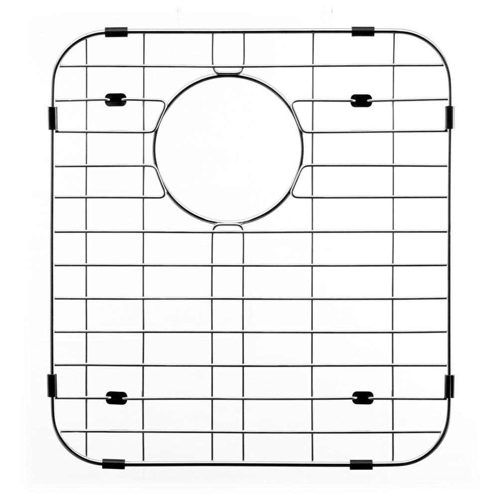 Wirecraft 15 in. x 13.75 in. Bottom Grid for Kitchen Sinks in Stainless Steel