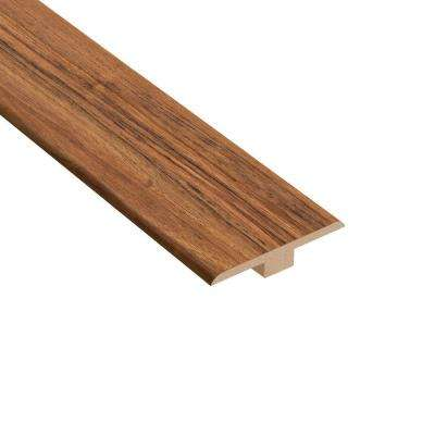 Vancouver Walnut 1/4 in. Thick x 1-7/16 in. Wide x 94 in. Length Laminate T-Molding
