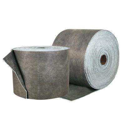 Medium-Duty 14.25 in. x 125 ft. Absorbent Split Rolls (2 Rolls per Case)