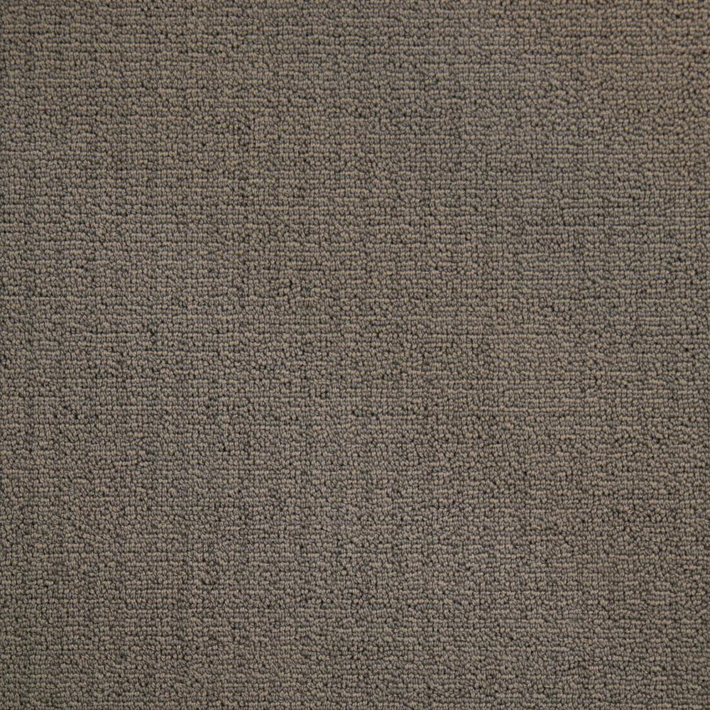 Wildly Popular I - Color Sand Dunes Textured Loop 12 ft. Carpet