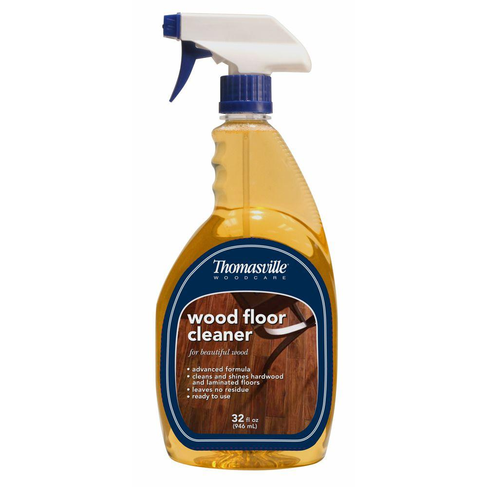 wood floor cleaner thomasville 32 oz wood floor cleaner 100018t the home depot 29324