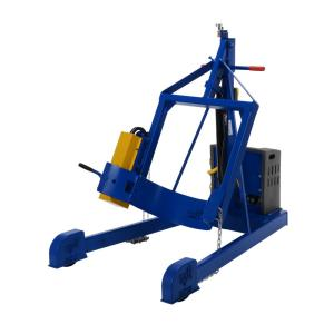 Vestil 96 inch Dc Power Portable Hydraulic Drum Carrier/Rotator/Booms by Vestil