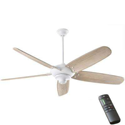 Altura DC 68 in. Indoor Matte White Ceiling Fan with Remote Control