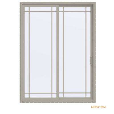 Beau 72 In. X 96 In. V 4500 Contemporary Desert Sand Vinyl Right