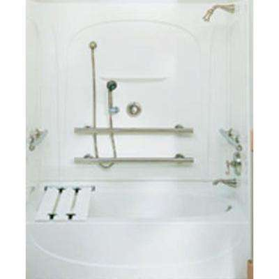 Two piece - Bathtub Walls & Surrounds - Bathtubs - The Home Depot