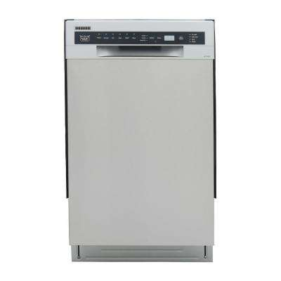 Pro-Style 18 in. Front Control Tall Tub Dishwasher in Stainless Steel, Stainless Steel Tub and Multiple Filter System