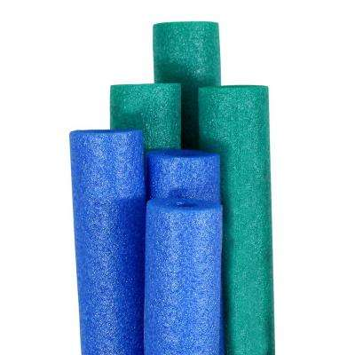 Big Boss Blue and Teal Round Pool Noodles (6-Pack)