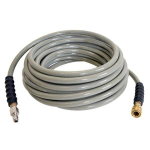 Simpson 3/8 inch x 50 ft. Cold Water Hose for Pressure Washer by Simpson