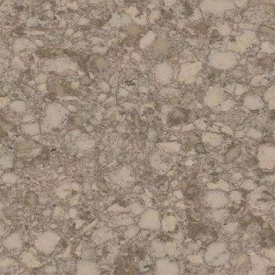 3 in. x 3 in. Quartz Countertop Sample in Cove