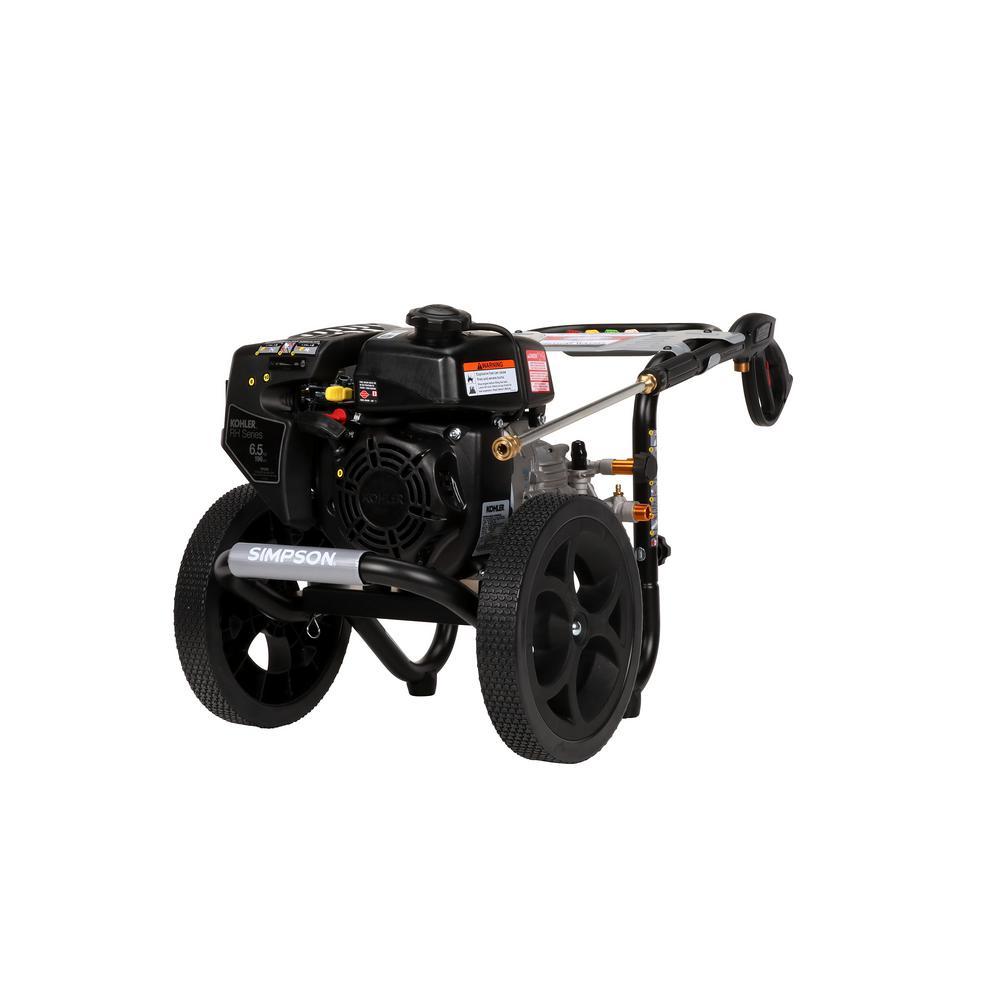 MegaShot 3,100 PSI 2.4 GPM Gas Pressure Washer Powered by Kohler
