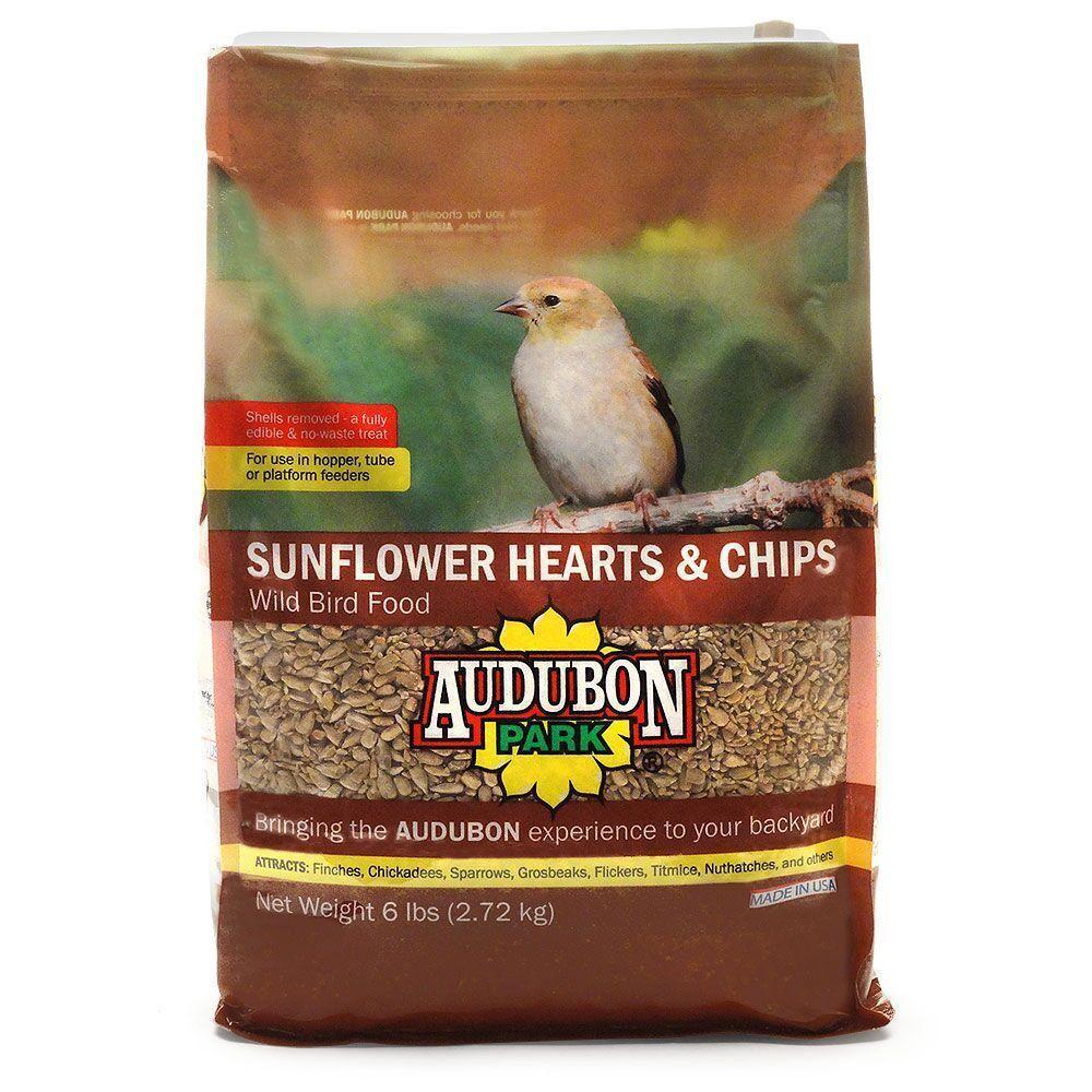 6 lb. Sunflower Hearts Wild Bird Food