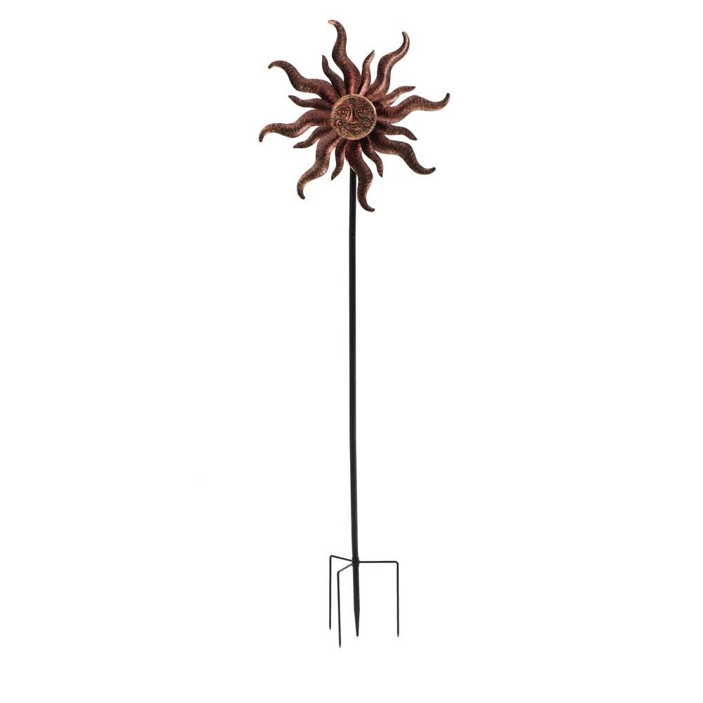 Charmant Sunjoy Flaming Sun Garden Stake