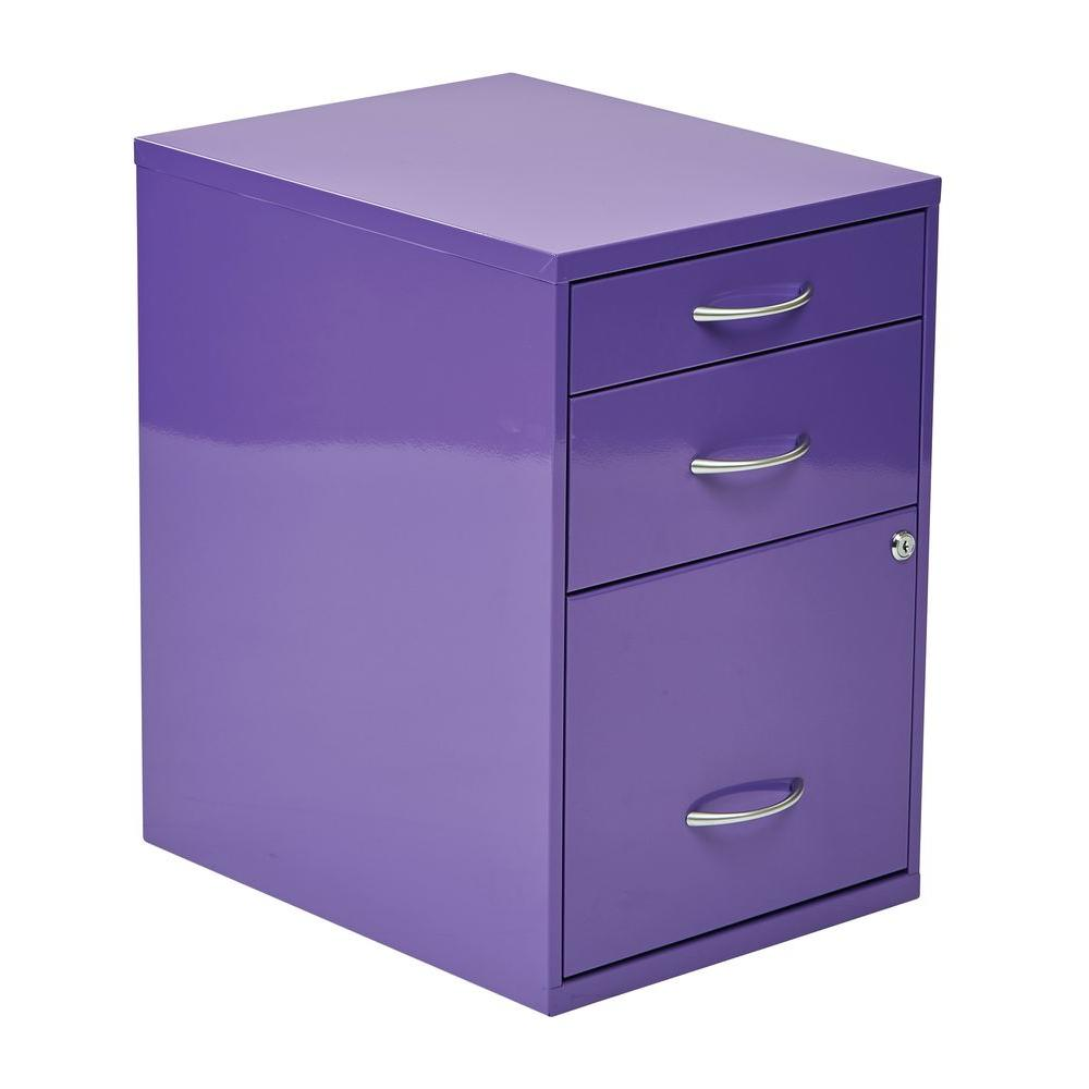 Bon OSPdesigns Purple File Cabinet