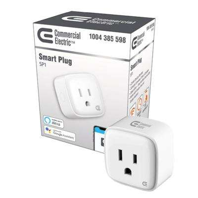 Wi-Fi Smart Plug, No Hub Required, Works with All Major Voice Control Platforms