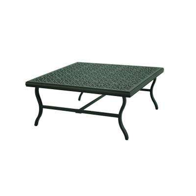 A+R Belthorne Brown Metal Outdoor Patio Coffee Table