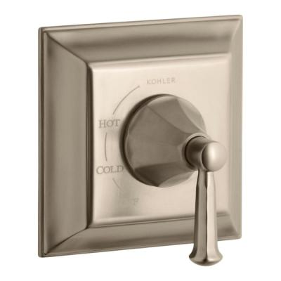 Memoirs Stately 1-Handle Tub and Shower Faucet Trim Kit with Lever Handle in Vibrant Brushed Bronze (Valve Not Included)