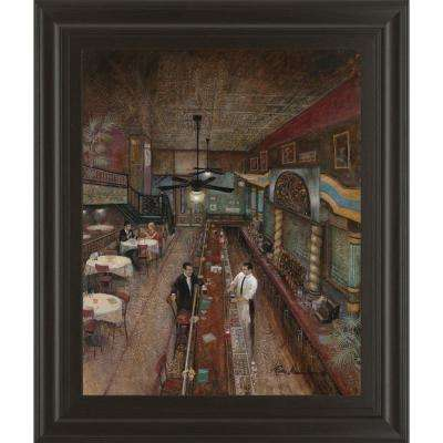 "22 in. x 26 in. ""Hey Bartender"" by Ruane Manning Framed Printed Wall Art"